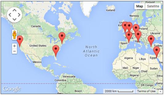 Weltkarte_besuchte_Orte